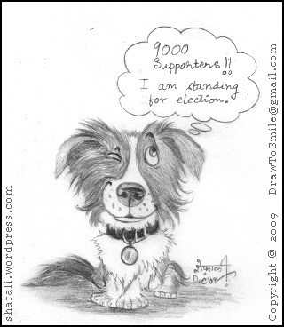 Darcy the Border Collie and the Campaign to have him released from the quarantine.