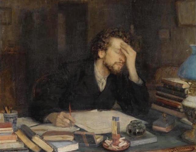 Writer's Block - Leonid Pasternak