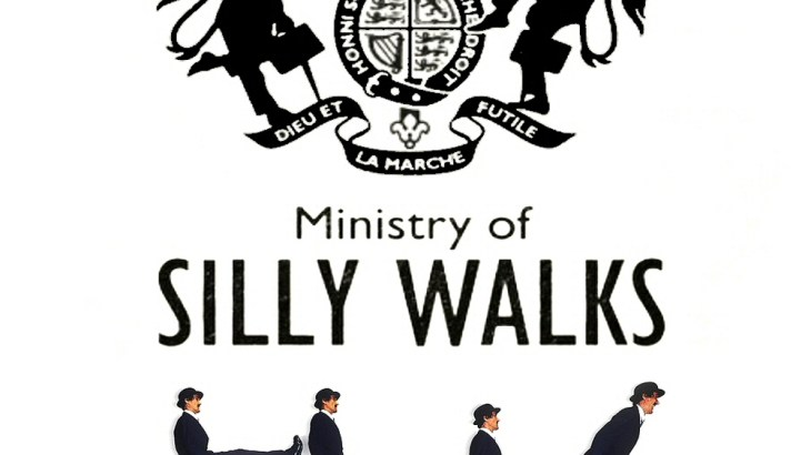 Silly Walk Crossing - Department of Silly Walks ...