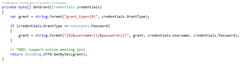 UCWA NET – Implementing Discovery and Authentication