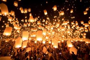 APTOPIX Thailand Festival