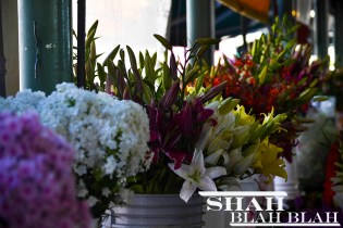 Flowers sold at the Public Market