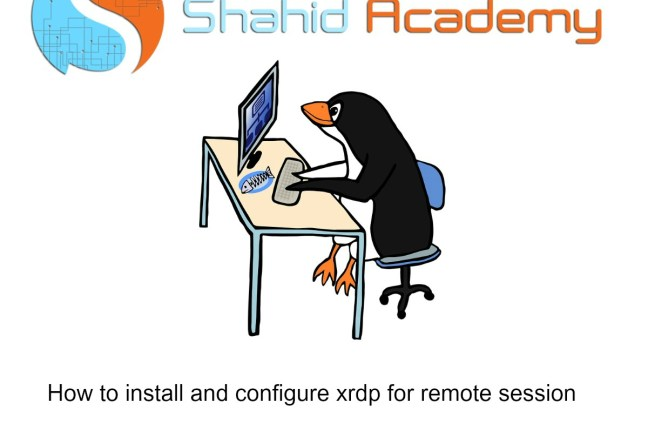 How to install and configure xrdp for remote session