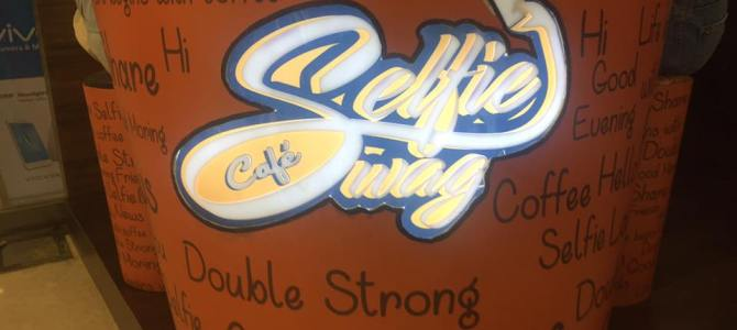Taking Latte Art to the next level with the concept of Selfies : The Selfie Swag Cafe