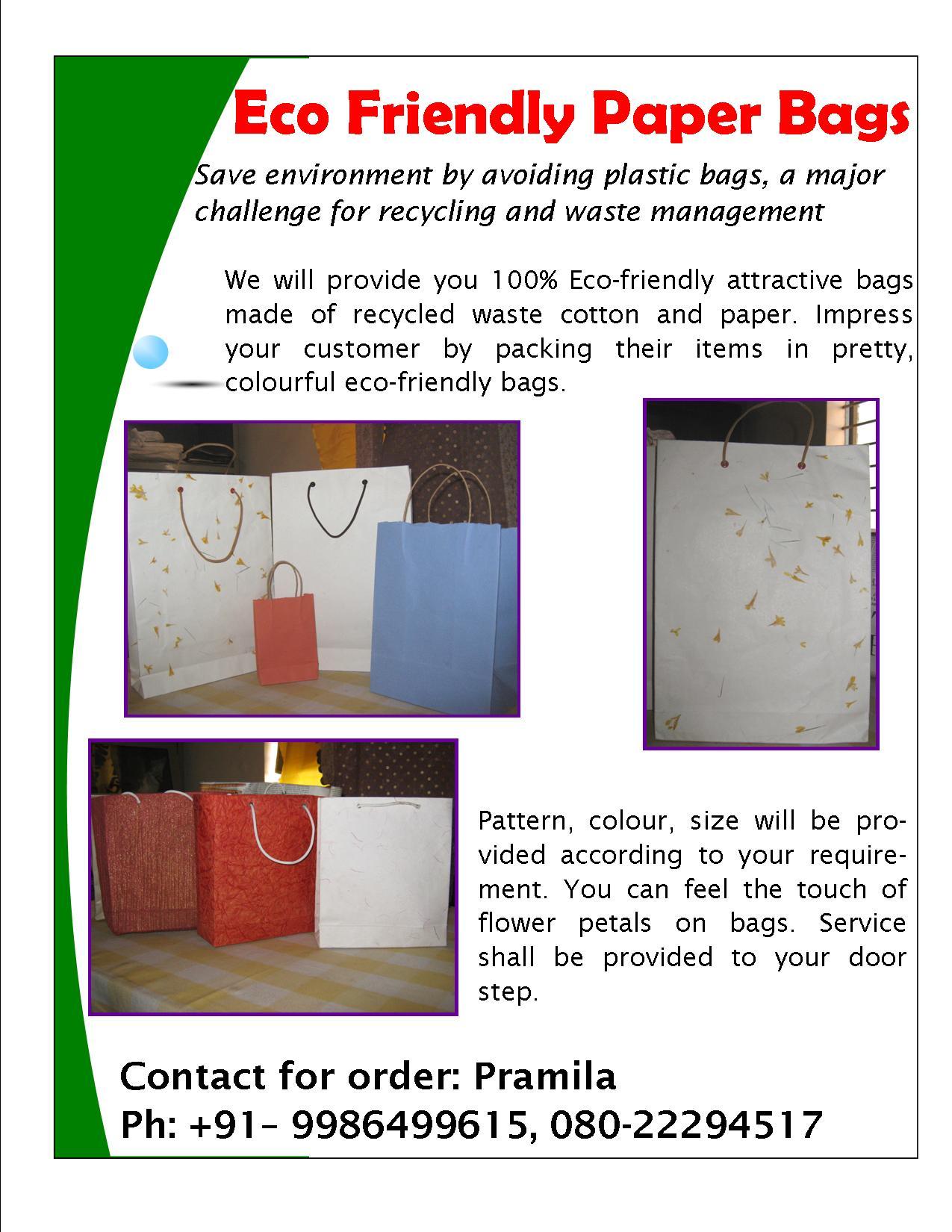 Avoid plastic, save Earth