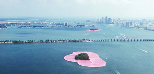 christo e jeanne surrounded island3