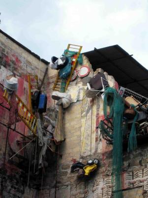 Particolare Cattedrale dei rifiuti, Uwe - © foto studio camera