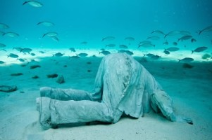 The banker, by Jason deCaires Taylor