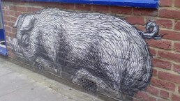 Roa, in Bacon Street