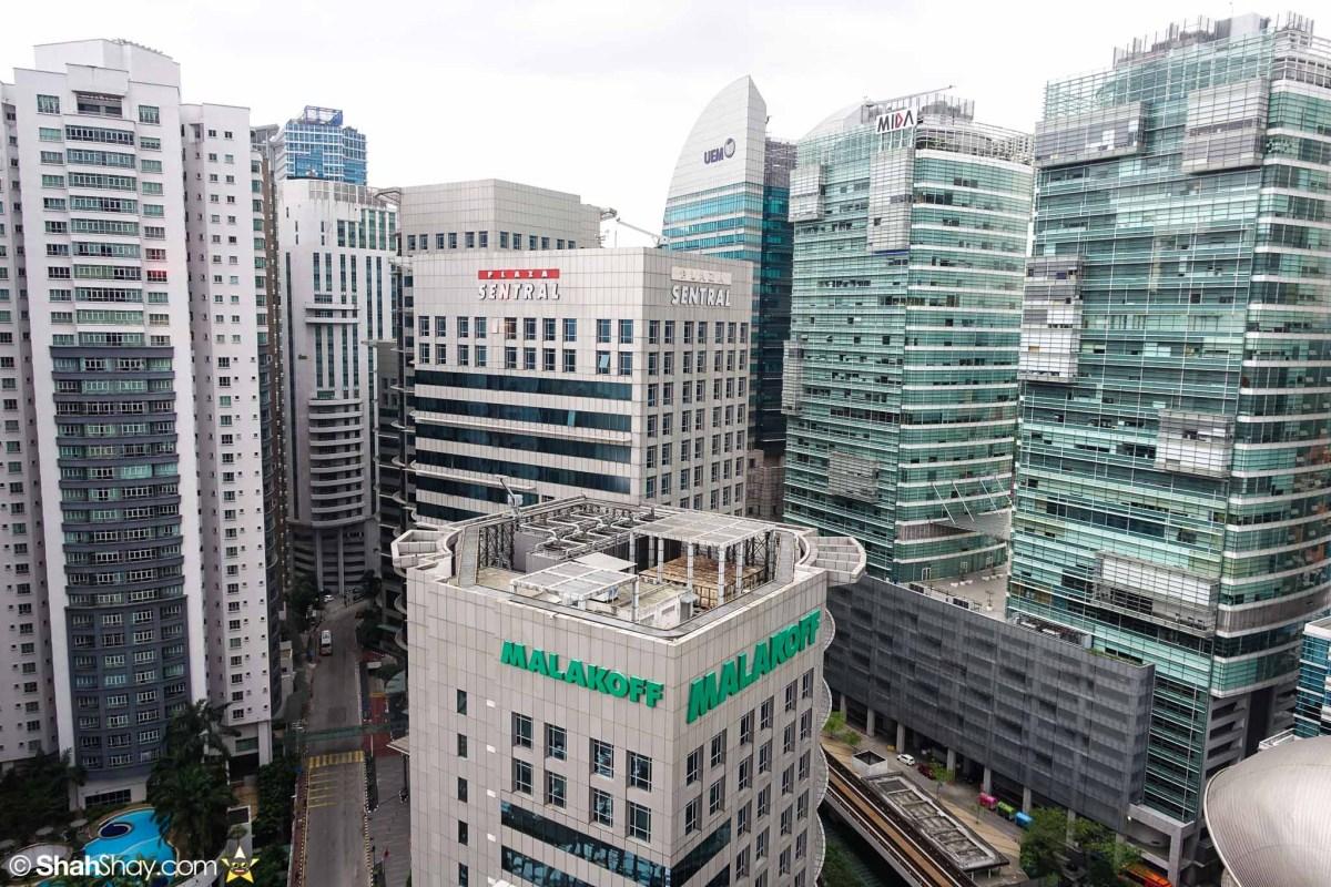 Hotel Kuala Lumpur - Aloft KL Sentral Breezy Suite - Daytime view