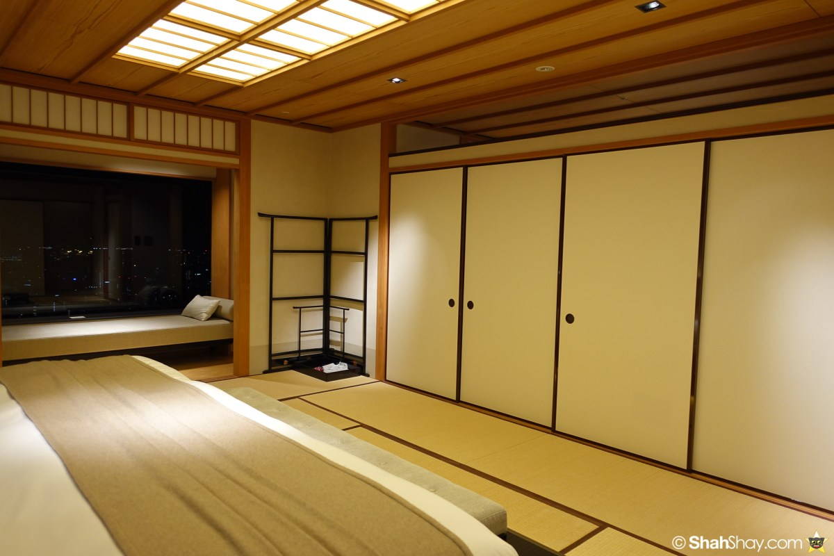 The Ritz-Carlton Tokyo Rooms - Modern Japanese Suite - Sliding doors