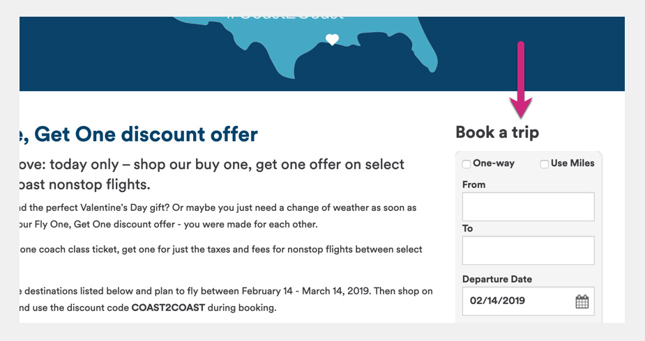 Alaska Airlines Cheap Flights BOGO sale offer Step 2