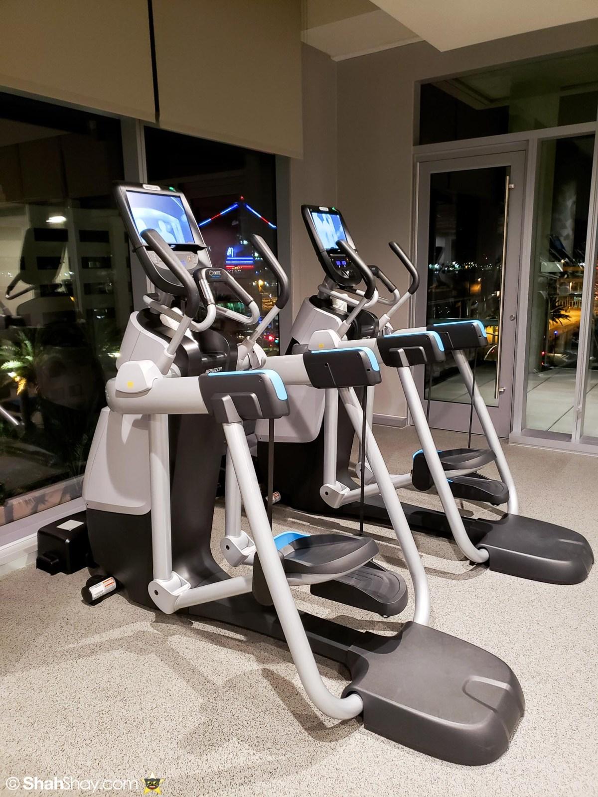 InterContinental San Diego Fitness Center - Elliptical machines
