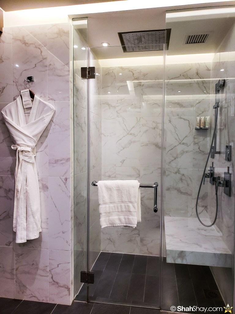 Le Méridien Suite Review at The Le Méridien Kuala Lumpur - bathroom shower