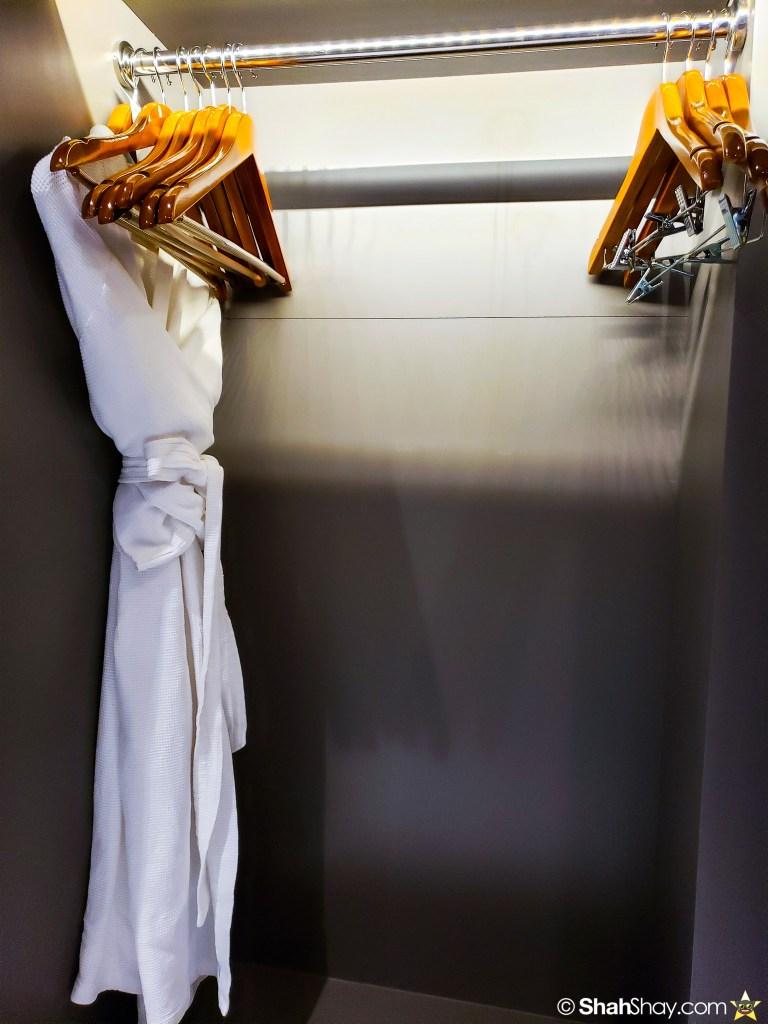 Le Méridien Suite Review at The Le Méridien Kuala Lumpur - closet space