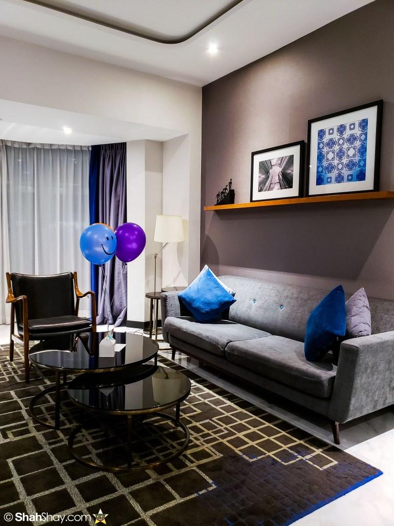 Le Méridien Suite Review at The Le Méridien Kuala Lumpur - living room