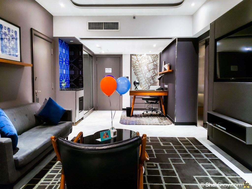 Le Méridien Suite Review at The Le Méridien Kuala Lumpur - living room another view