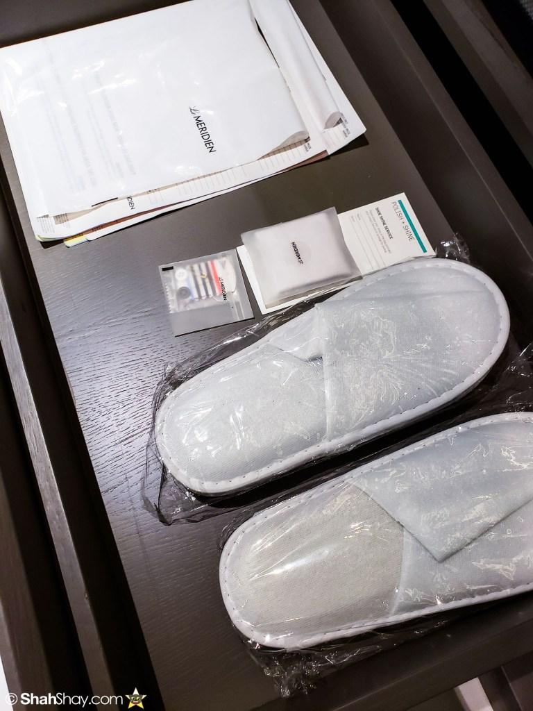 Le Méridien Suite Review at The Le Méridien Kuala Lumpur - slippers
