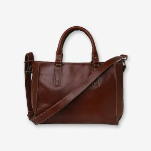 Brown-Classy-Leather-Tote-Bag-front