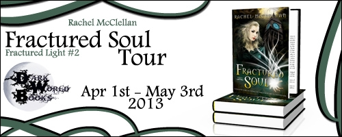 Fractured Soul by Rachel McClellan – Interview / Excerpt / Give Away / Trailer