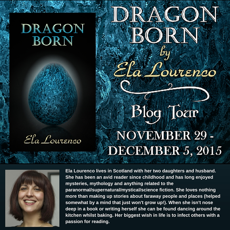Celebrating …. Dragon Born by Ela Lourenco PLUS Guest Post About How This Book Was The Beginning of a Whole New Chapter