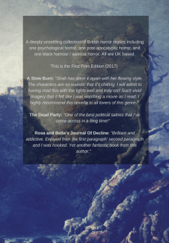 Back Cover of DREAD