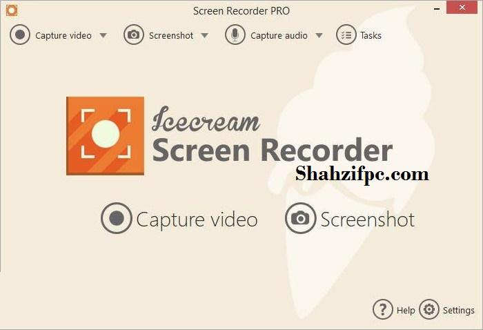 IceCream Screen Recorder Pro Free Crack