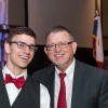 Shaie Williams for AGN Media. Brayden Williams and Billy Talley at the Armed Forces Day Banquet in Amarillo, TX Held at the Amarillo Civic Center on May 21, 2016.