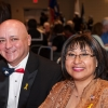 Shaie Williams for AGN Media. Francisco S Linan JR. and Rosalind L Gomez at the Armed Forces Day Banquet in Amarillo, TX Held at the Amarillo Civic Center on May 21, 2016.
