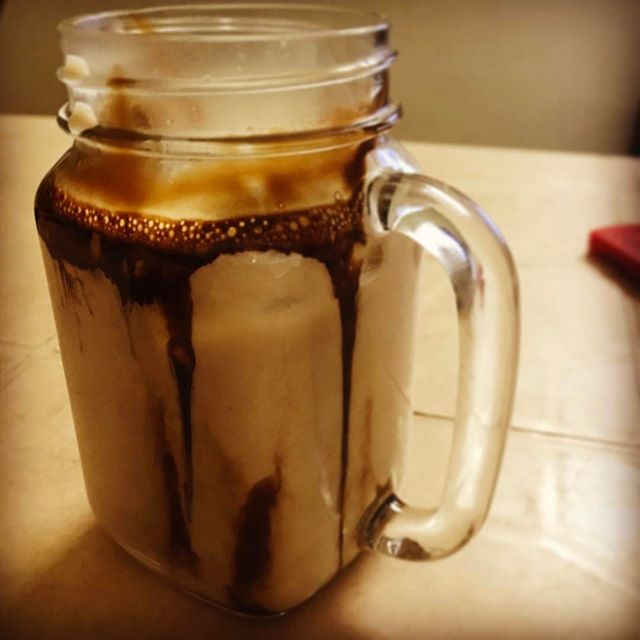 #coldMocha #coffee #homeDiaries #tbt All thanks to @kmr_umesh 😇 #iCrave for more 😅