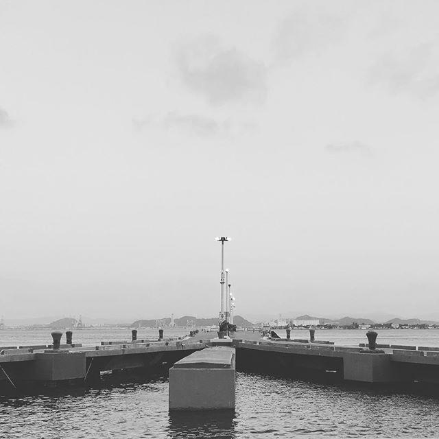 The beauty of sea ! 🌊 #port #sealine #caribbean