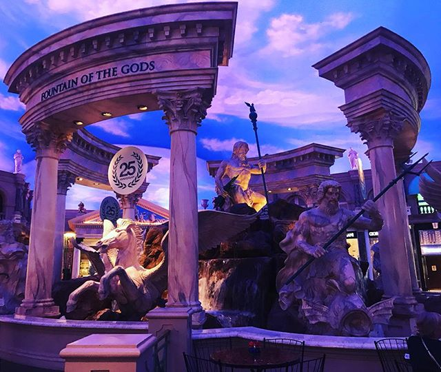 The Greek Gods! #greekgod #vegas #vegasstrip #caesarspalace