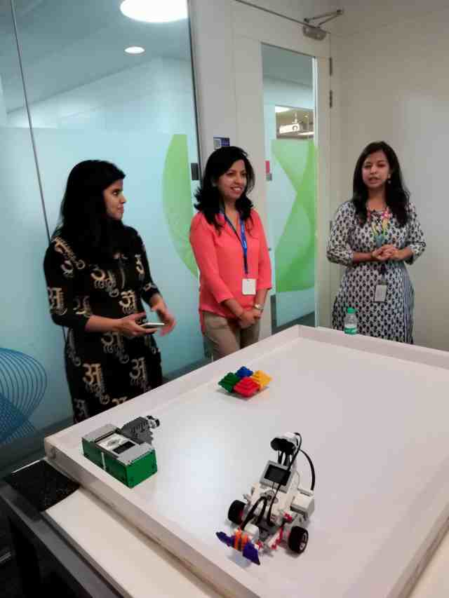 Deepti Rehal of Robotopia at PayPal Girls in Tech and Kids in Tech workshop