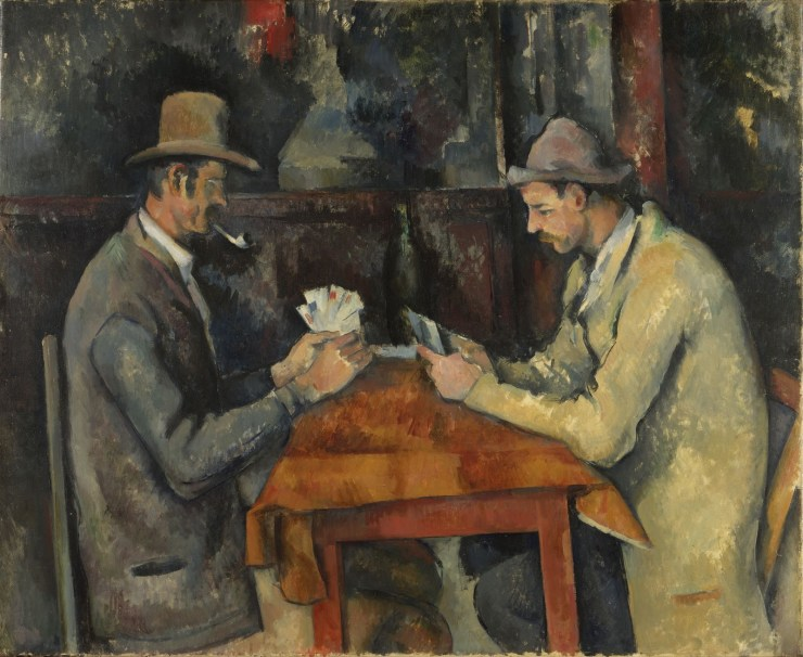 Cezanne -The Card Players - www.shairart.es