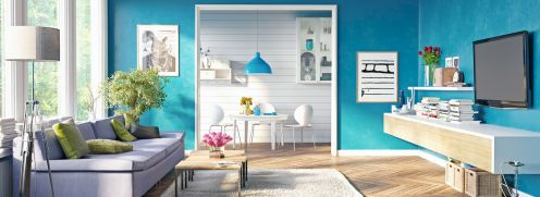 30 DIY Apartment Wall Color and Decoration - Get more Ideas in our gallery | #homedesign #homestyle #homedecor #apartmentinterior #apartmentcolor #apartmentinterioridea #apartmentdecoratingidea Part 22