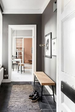 30 DIY Apartment Wall Color and Decoration - Get more Ideas in our gallery   #homedesign #homestyle #homedecor #apartmentinterior #apartmentcolor #apartmentinterioridea #apartmentdecoratingidea Part 29