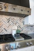 Herringbone Kitchen Backsplash for DIY decor Part 15
