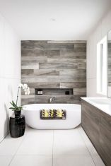 70+ Tiles Ideas for Small Bathroom - Get more Ideas in our gallery | #smallbathroom #bathroomdecoration #bathroomideas #bathroomtiles #bathroomdecor #homedecor (43)