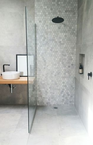 70+ Tiles Ideas for Small Bathroom - Get more Ideas in our gallery | #smallbathroom #bathroomdecoration #bathroomideas #bathroomtiles #bathroomdecor #homedecor (60)