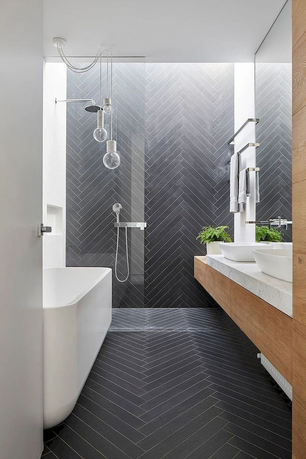 70+ Tiles Ideas for Small Bathroom - Get more Ideas in our gallery | # & Must See Bathroom Tiles Ideas - How to Configure It in Small Space ...