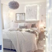 Simple tips for low budget bedroom makeover with classy curtain design and inspiring reading spot. Bedroom Makeover Idea Part 27