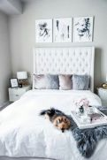 Simple tips for low budget bedroom makeover with classy curtain design and inspiring reading spot. Bedroom Makeover Idea Part 41