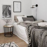 Simple tips for low budget bedroom makeover with classy curtain design and inspiring reading spot. Bedroom Makeover Idea Part 46