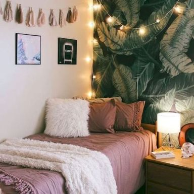 Simple tips for low budget bedroom makeover with classy curtain design and inspiring reading spot. Bedroom Makeover Idea Part 58