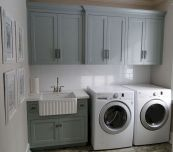 55 Best Small Laundry Room Photo Storage Ideas (12)