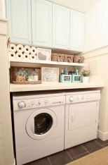 55 Best Small Laundry Room Photo Storage Ideas (18)