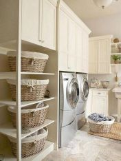 55 Best Small Laundry Room Photo Storage Ideas (19)