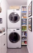 55 Best Small Laundry Room Photo Storage Ideas (31)