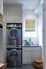 55 Best Small Laundry Room Photo Storage Ideas (33)