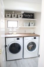 55 Best Small Laundry Room Photo Storage Ideas (36)